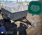 Купити причіп легковий Дніпро-170х130х40 та інші моделі від виробника! Тент в подарунок Луцк
