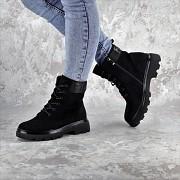 Ботинки женские Fashion Kaitlin 2276 40 размер 25 см Черный Житомир