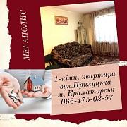1-кімнатна квартира на Станкострої Краматорск