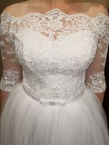 Весільна сукня біла. Розмір 46-48 Хмельницкий