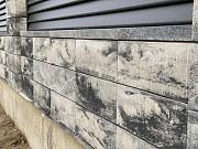 Блок в стилі лофт для огорожі. Установка, монтаж на Закарпатті Ужгород