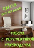 Работа с достойной оплатой. Одесса Одесса