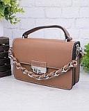 Женская сумка из экокожи Коричневый Житомир
