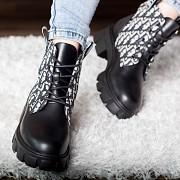 Ботинки женские Fashion Fantasy 2805 36 размер 23,5 см Черный 37 Житомир