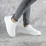 Кеды женские Fashion Modlaun 2372 36 размер 23,5 см Белый 37 Житомир