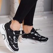 Кроссовки женские Fashion Gex 2569 36 размер 23,5 см Черный Житомир