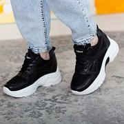 Кроссовки женские Fashion Randy 2621 37 размер 23 см Черный Житомир