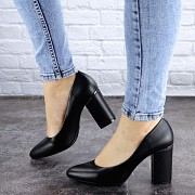 Туфли женские на каблуке Fashion Beans 2129 36 размер 23,5 см Черный 39 Житомир