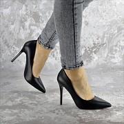 Туфли женские на каблуке Fashion Fleetwood 2362 37 размер 24 см Черный 40 Житомир