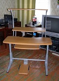 Стол компьютерный (стойка трехярусная, металл) Тайвань самовывоз КРИВОЙ РОГ Кривой Рог