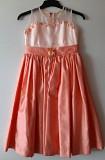 Нарядное персиковое платье для девочки Киев