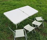 Стол для пикника со стульями Folding table раскладной, Складной стол Киев