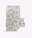 Продам 3-х комнатную квартиру 47990 $ новый сданный дом, АН Альтерра Одесса