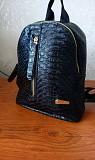 Черный рюкзак.рюкзачок.женский рюкзак маленький Сумы
