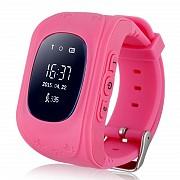 Детские умные часы Smart Watch GPS трекер Q50/G36 Pink, Ассортимент часов, подарки Киев