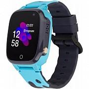 Смарт-часы Discovery iQ4600 Camera Blue Детские часы-телефон трекер, Детские умные часы, подарки Киев