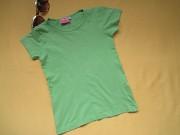 Светло-зелёная футболка,р.134,Europe Kids Пирятин