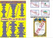 Свідоцтво, посвідчення, диплом, сертифікат, скоринка, Кропевницкий Кировоград