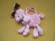 Меховая красивая сумка игрушка собачка для девочек Пирятин