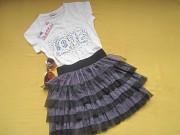 Новая красивая нарядная юбка на 7-9лет Пирятин