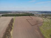 Продам земельну ділянку у селі Хлепча - загальна площа 6.18 Га. Ліс, Річка Фастов