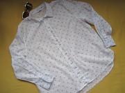 Качественная тонкая хлопковая рубашка, р.42, C&A Пирятин
