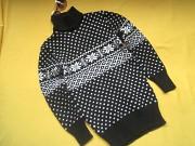 Новый двойной очень плотный свитер,зимний свитер девочке 9-11лет,р.38 Пирятин