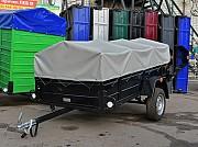 Легковой прицеп Лев 20св и другие модели, всё на торговой базе в Зеленьках Мироновка