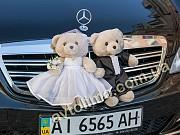 Украшения для свадебной машины Мишки+4бутоньерки Киев