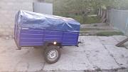 Купить прицеп автомобильный одноосный 200х130х35 с тентом в подарок, отправка с г. Кременчуг Диканька
