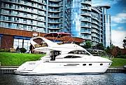 Моторная яхта Princess-45 V.I.P. прокат аренда Киев