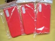Новый красный силиконовый чехол на OPPO Reno 3 Pro Пирятин