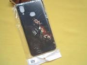 Новый черный с рисунком спортсменом чехол на телефон Samsung A10s Пирятин