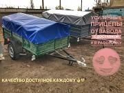 Купить новый автомобильный прицеп 200х1200х35 на рессорах Волга. Завод! Каланчак