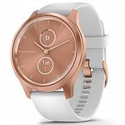 Смарт-часы Garmin vivomove Style, S/E EU, Rose Gold, White, Silicone (010-02240-20) Киев