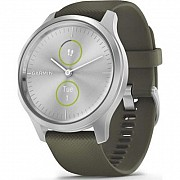 Смарт-часы Garmin vivomove Style, Silver, Moss, Silicone (010-02240-21) Киев