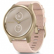 Смарт-часы Garmin vivomove Style, S/E EU, Light Gold, Blush Pink, Nylon (010-02240-22) Киев