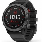 Смарт-часы Garmin fenix 6 Pro Solar, Slate Gray with Black Band (010-02410-15) Киев