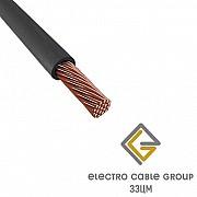 Электрический провод ЗЗЦМ ПВ-3 2.5 чёрный Винница