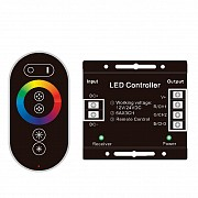 Контроллер PROLUM RGB Full-TOUCH 24А, Черный Винница