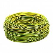 Электрический провод ЗЗЦМ ПВ-3 0.75 Желто-зеленый Винница